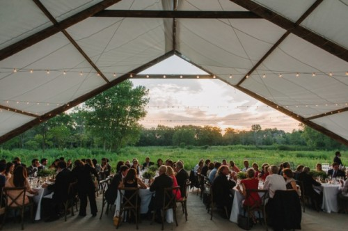 Elegant Rustic And Retro Inspired Wedding In Illinois
