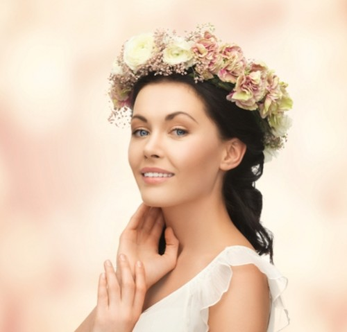 Bohemian DIY Flower Crown For Charming Brides