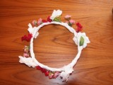 Bohemian DIY Flower Crown For Charming Brides4