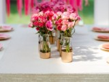 Chic DIY Gold Painted Vases