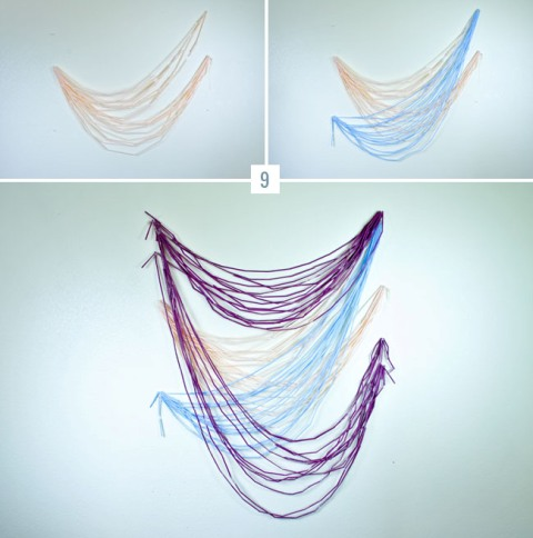 Creative DIY Straw Wedding Backdrop To Make