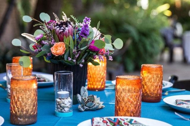 Cute DIY Bohemian Wedding Bouquet