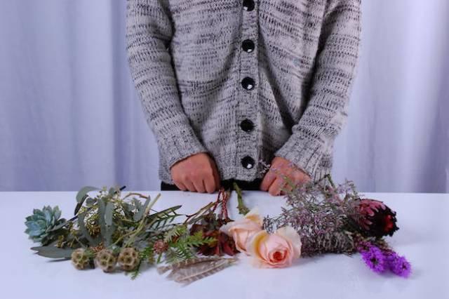 Picture Of Cute DIY Bohemian Wedding Bouquet 4