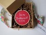 Cute DIY Bridesmaid Proposal Boxes