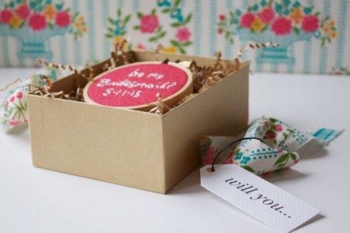 Cute DIY Bridesmaid Proposal Boxes
