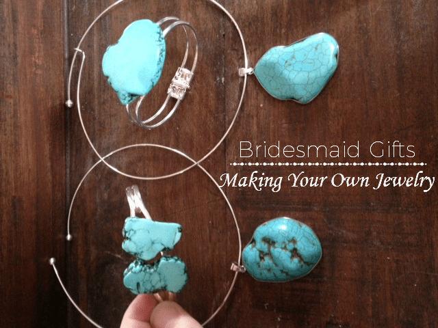 Cute DIY Bridesmaids' Jewelry Gifts