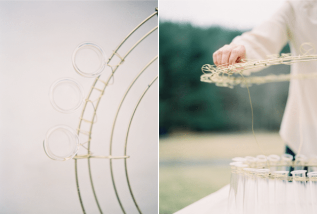 Picture Of Cute DIY Test Tube Chandelier For Rustic Weddings 5