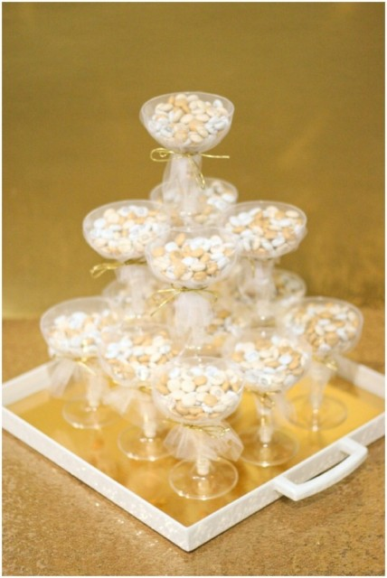DIY Glamorous Bridal Shower Or Wedding Favors With MMs