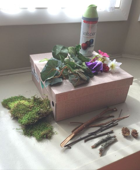 DIY Rustic Woodland Wedding Card Box - Weddingomania