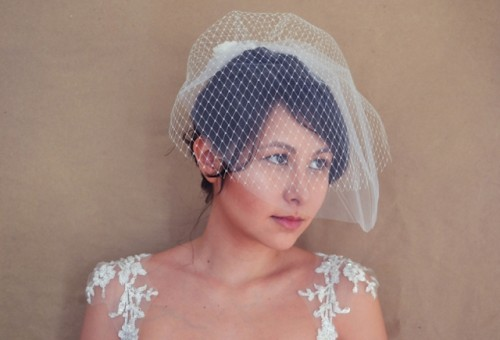 Easy-To-Make And Vintage-Inspired DIY Blusher Veil