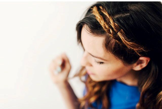 Picture Of Easy To Make DIY Bridal Double Crown Braid 3
