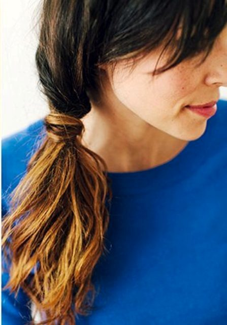 Easy-To-Make DIY Bridal Twist And Wrap Ponytail