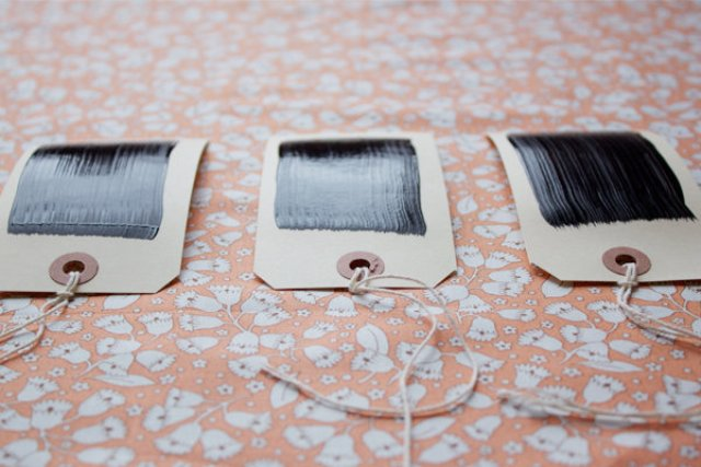 Picture Of Easy To Make DIY Chalkboard Escort Cards 5