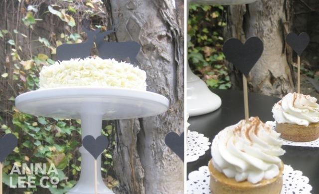 Picture Of Easy To Make DIY Silhouette Cake Toppers 3