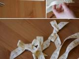 Elegant DIY Burlap Boutonniere11