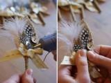 Elegant DIY Burlap Boutonniere14
