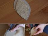 Elegant DIY Burlap Boutonniere7
