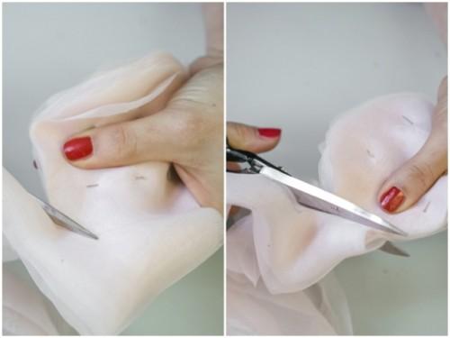 Fairy DIY Bridal Shoes With Chiffon Pom Poms