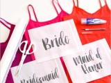 Funny DIY Bleach Shirts For Bride And Bridesmaids2