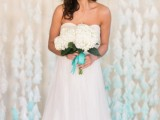 Gentle DIY Dip-Dyed Coffee Filter Wedding Backdrop4