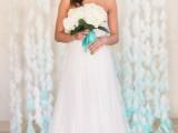 Gentle DIY Dip-Dyed Coffee Filter Wedding Backdrop6