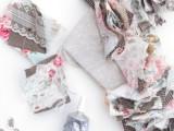 Original DIY Wedding Decor Fabric Scrap Letter11