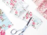 Original DIY Wedding Decor Fabric Scrap Letter5