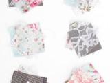 Original DIY Wedding Decor Fabric Scrap Letter7