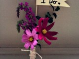 Perfect DIY Graphic Boutonniere