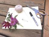Perfect DIY Graphic Boutonniere2