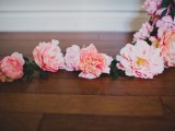 Romantic DIY Balloon With Silk Flowers For Weddings6