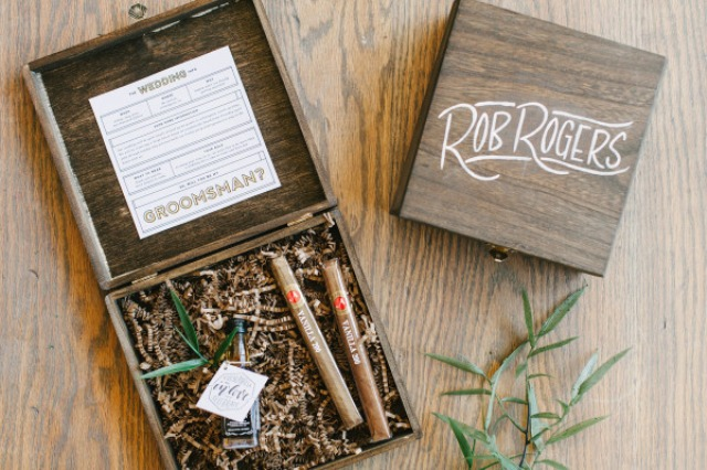 Picture Of Very Stylish DIY Will You Be My Groomsman Box 10
