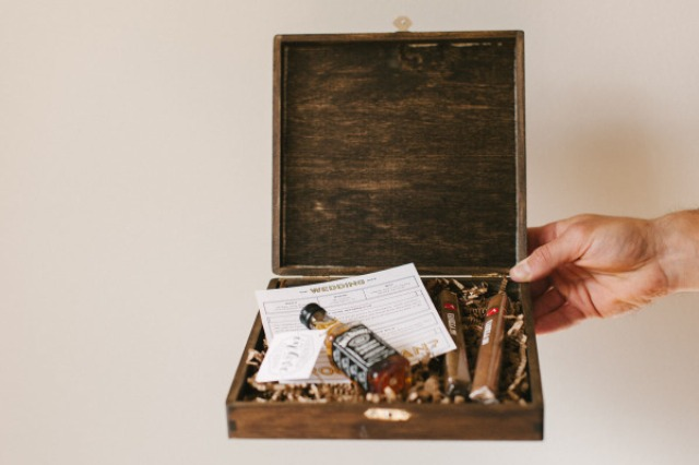Picture Of Very Stylish DIY Will You Be My Groomsman Box 5