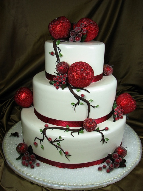 Christian Bakery Wedding Cake