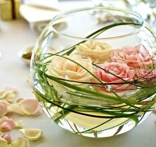 32 Adorable Floating Flower Wedding Decorations Weddingomania