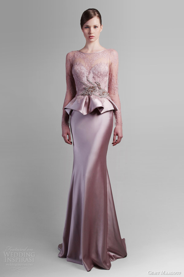Adorable Gemy Maalouf Spring 2014 Bridal Collection