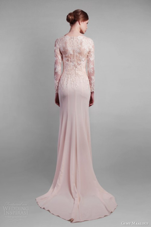 Adorable Gemy Maalouf Spring 2014 Bridal Collection