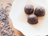 chocolate spruced up with dried lavender is delicious and very spring or summer-like