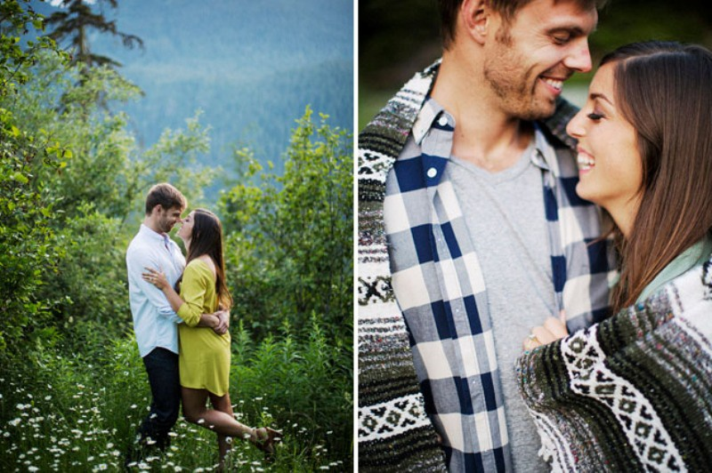 Picture Of adventurous and extremely beautiful engagement shoot in the mountains  22