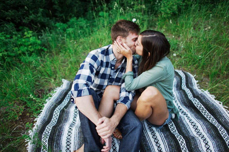Picture Of adventurous and extremely beautiful engagement shoot in the mountains  24