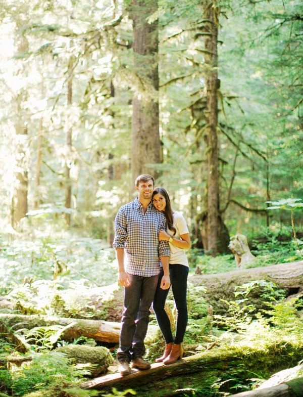 Picture Of adventurous and extremely beautiful engagement shoot in the mountains  3