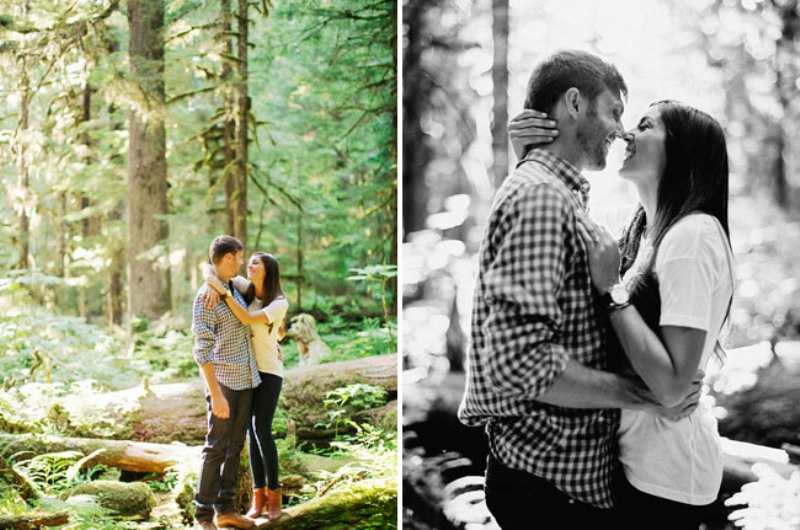 Picture Of adventurous and extremely beautiful engagement shoot in the mountains  5