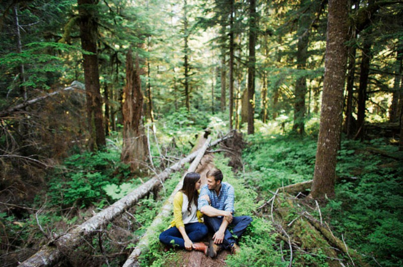 Picture Of adventurous and extremely beautiful engagement shoot in the mountains  6