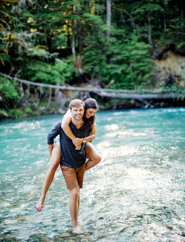 Picture Of adventurous and extremely beautiful engagement shoot in the mountains  8