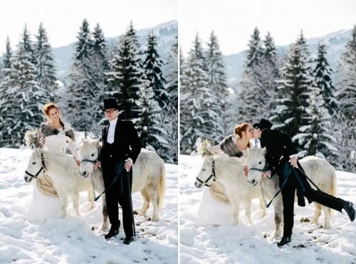 Alice In Winterland Wedding Inspiration