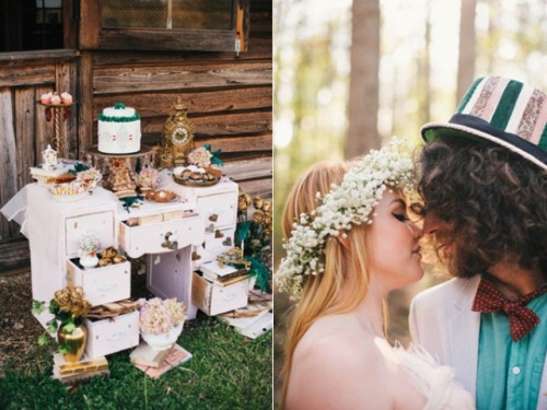 Alice In Wonderland Summer Wedding Theme