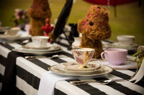 Alice In Wonderland Themed Bridal Shower Inspiration