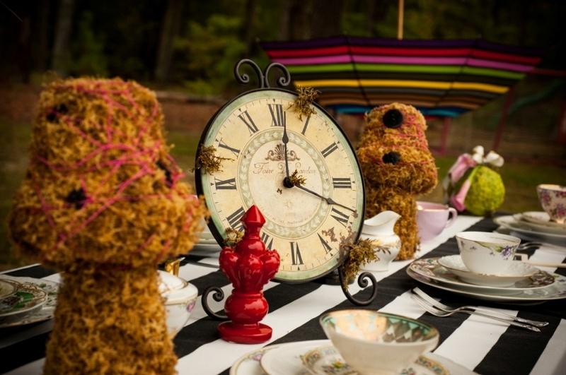 Alice In Wonderland Themed Bridal Shower Inspiration