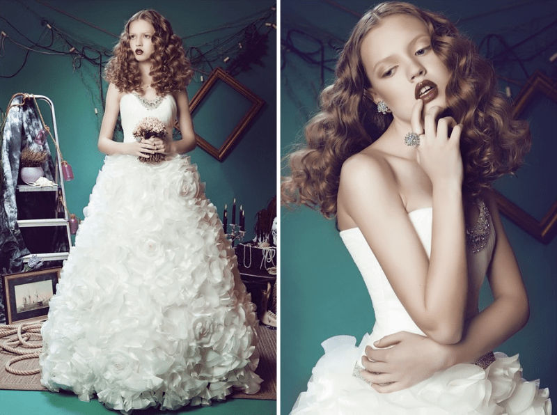 Alice in wonderland wedding dresses collection weddingomania