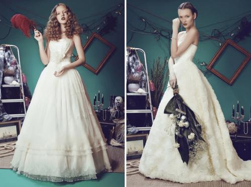 Alice In Wonderland Wedding Dresses Collection